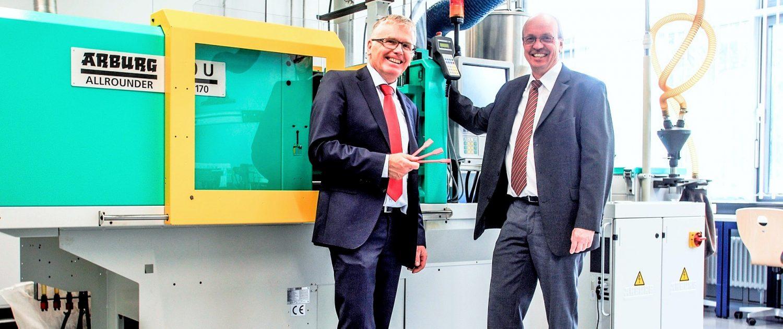 Prof. Dr. Bernhard Rief & Prof. Dr. Jürgen Gundrum