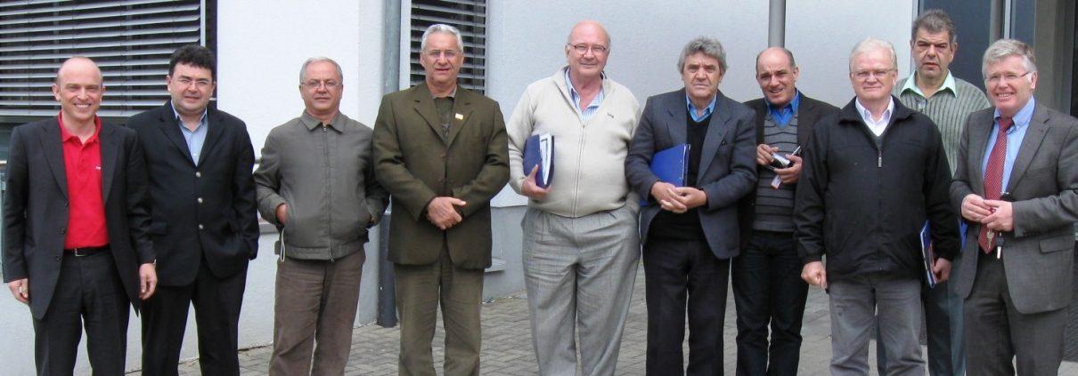 Delegation aus Brasilien