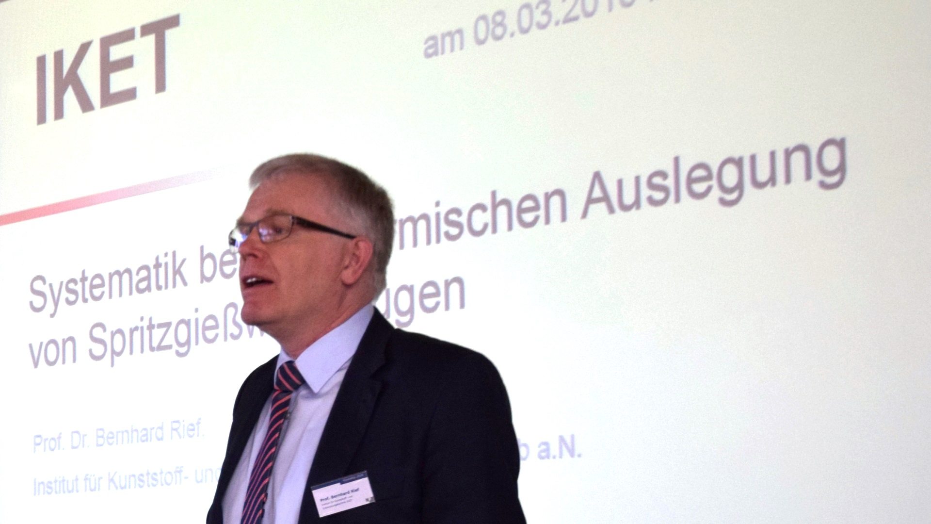 Novoplan Workshop 2018 - Prof. Dr. Bernhard Rief