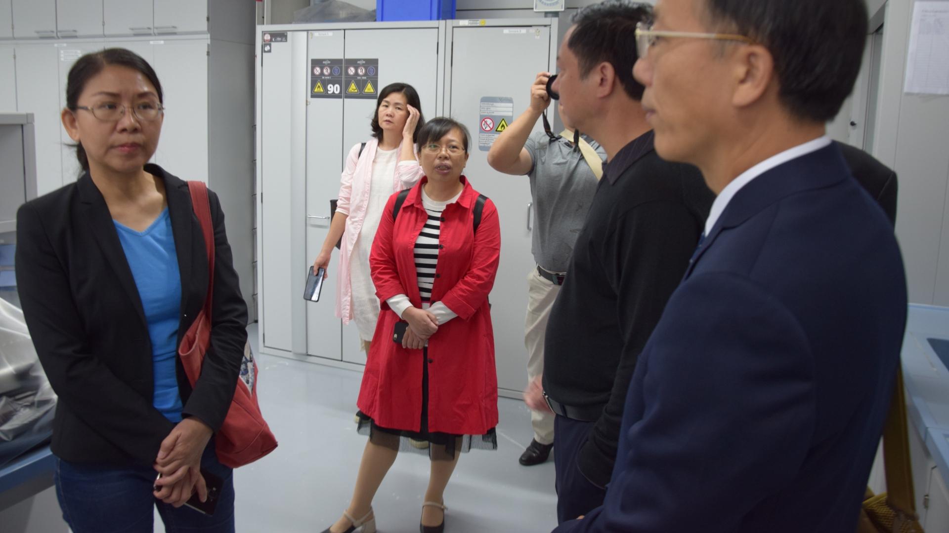 Chinescher Besuch