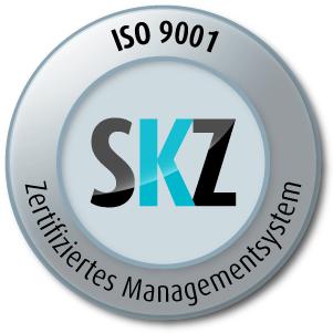 Logo SKZ Cert GmbH für ISO 9001